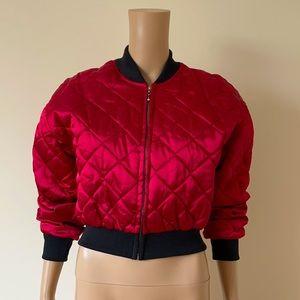 VINTAGE | Reserve quilted bomber jacket